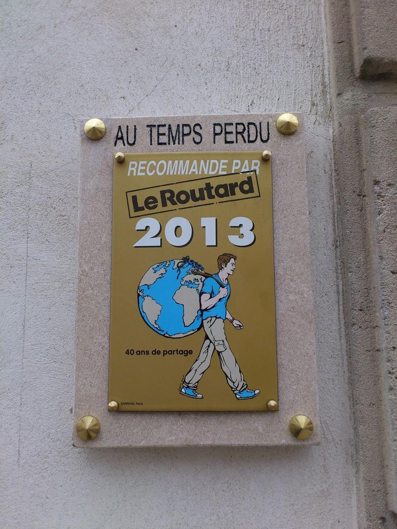 Foto vom 5. Februar 2016 18:55, Au Temps Perdu, 4 Rue Notre Dame, 55000 Bar-le-Duc, Frankreich