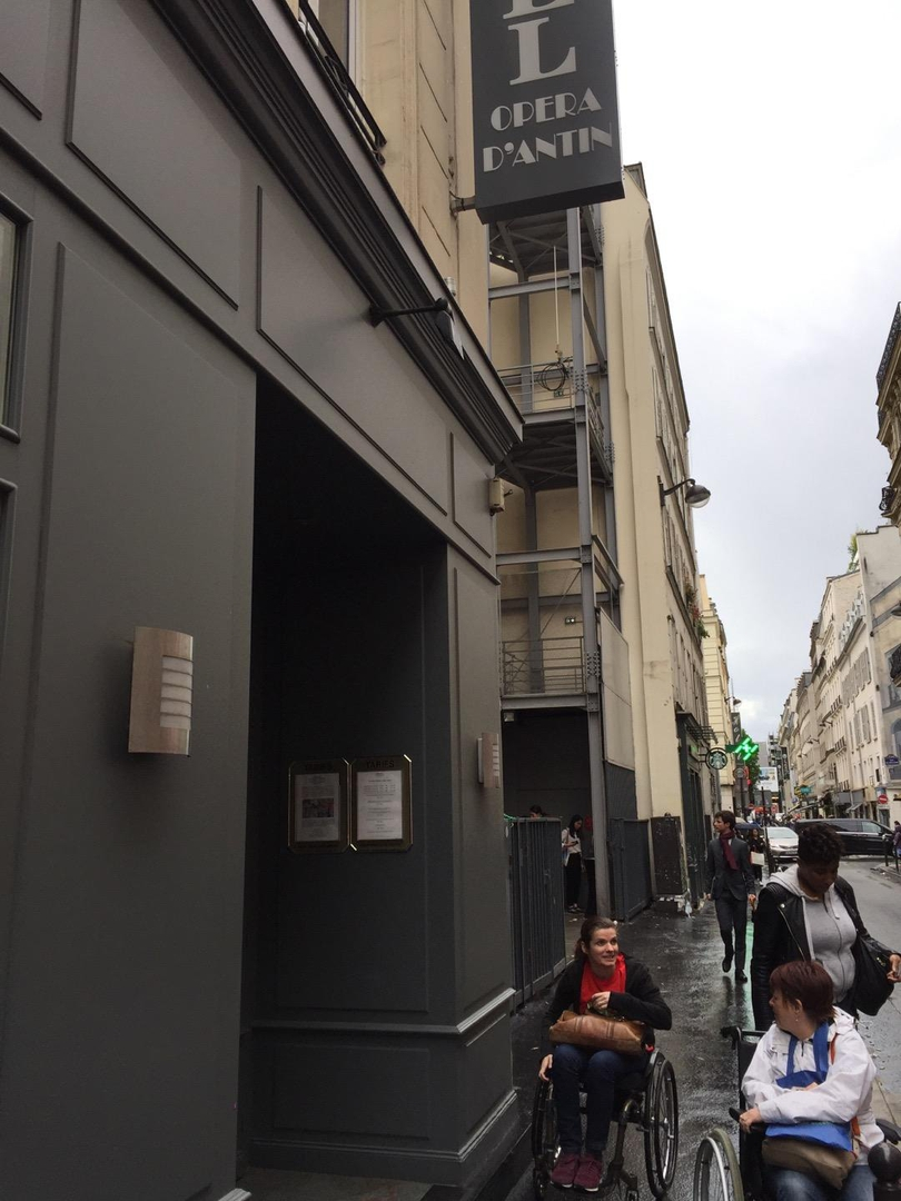 Photo du 6 juin 2017 13:46, hôtel opéra d'Antin, 75 Rue de Provence, Paris, France