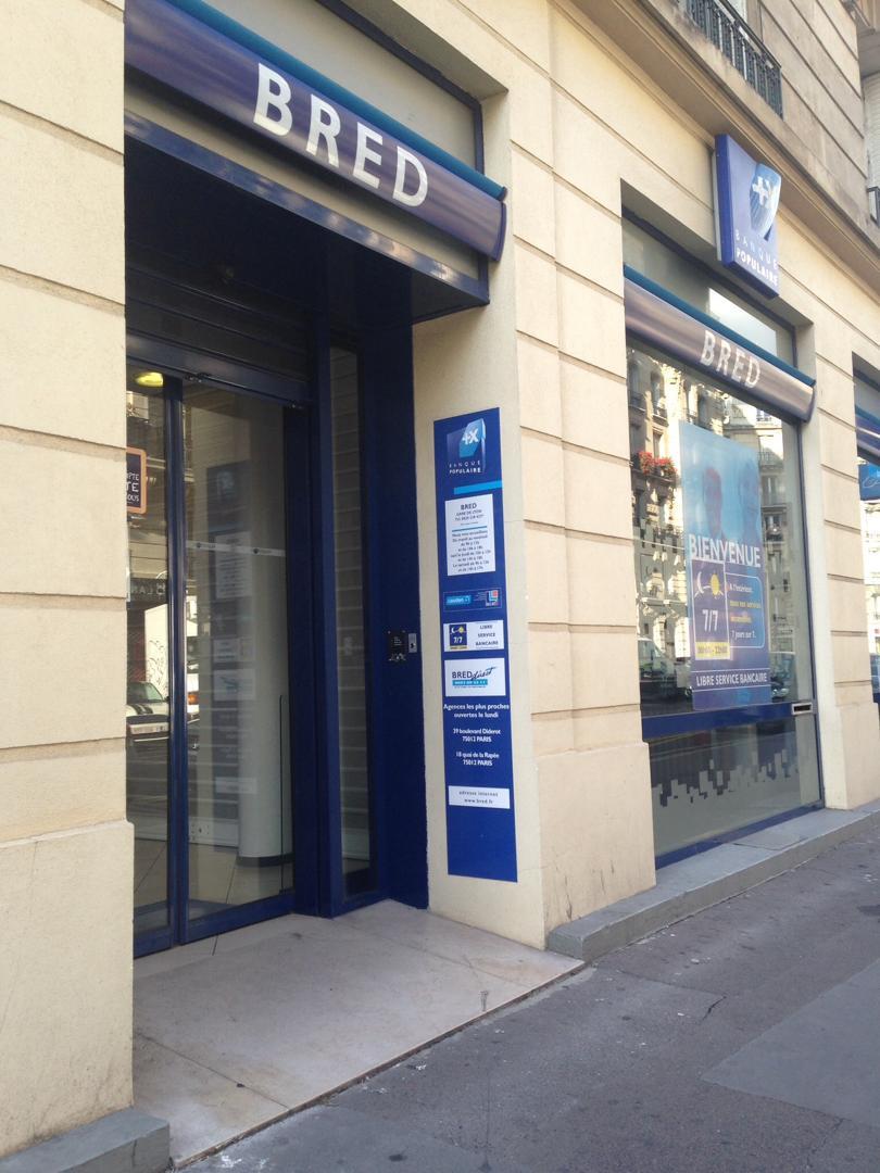 Foto del 5 de febrero de 2016 18:56, Banque BRED , 75012 Paris, France