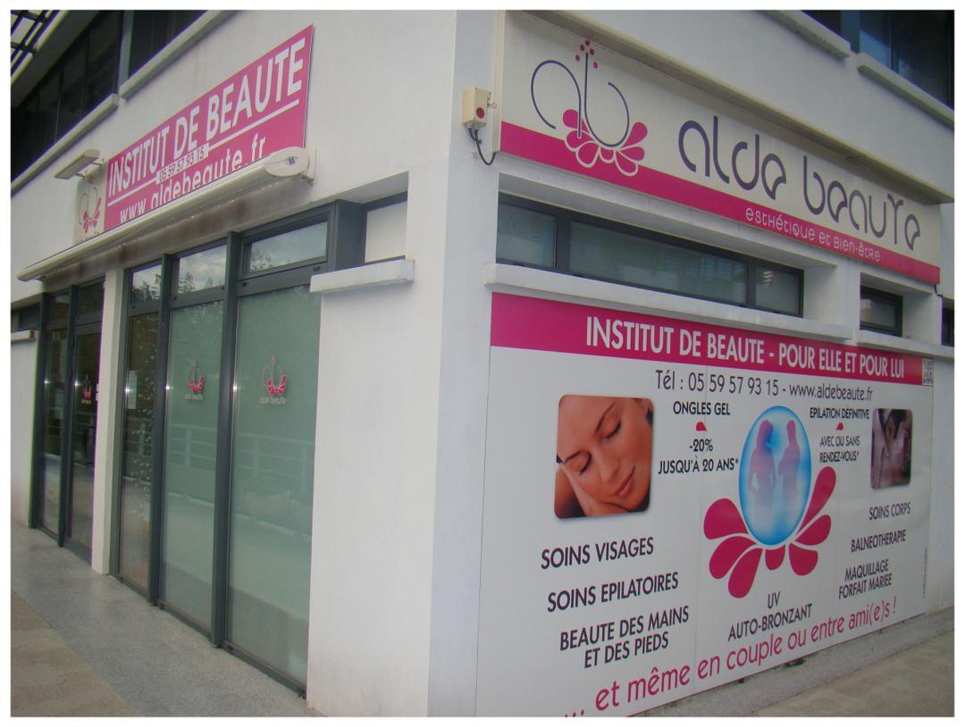 Foto del 5 de febrero de 2016 18:55, ALDE BEAUTE, Centre Erdian - Bât. Aldean - 12, allée Véga (Entrée par le BAB, ou par le 77, rue du Bois Belin- Allée Altaïr), 64600 Anglet, Francia