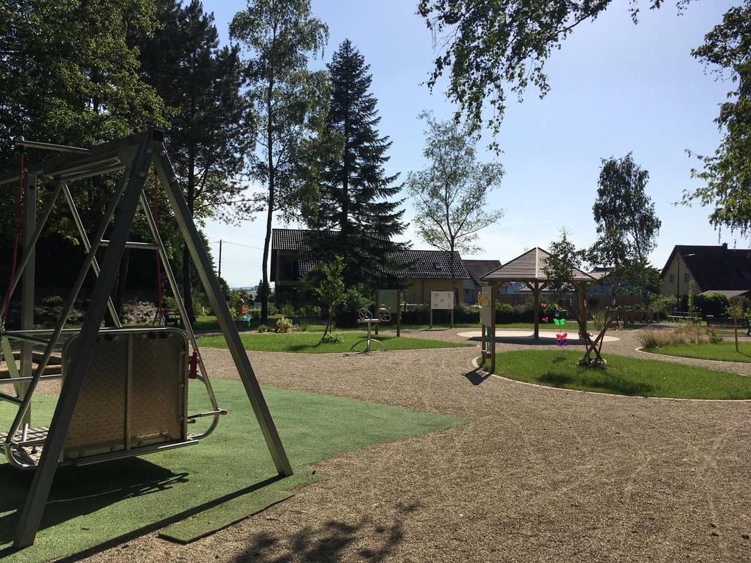 Photo of the June 14, 2017 7:15 PM, jardin sensoriel, Rue des Sports, Rohrbach-lès-Bitche, France