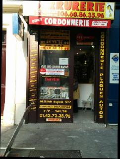 Photo of the May 24, 2016 10:49 PM, Serrurerie-Cordonnerie La Clef de la Bastille, 86 Avenue Ledru-Rollin, 75012 Paris, France
