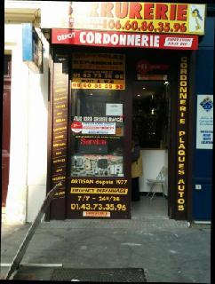 Foto vom 24. Mai 2016 22:49, Serrurerie-Cordonnerie La Clef de la Bastille, 86 Avenue Ledru-Rollin, 75012 Paris, France