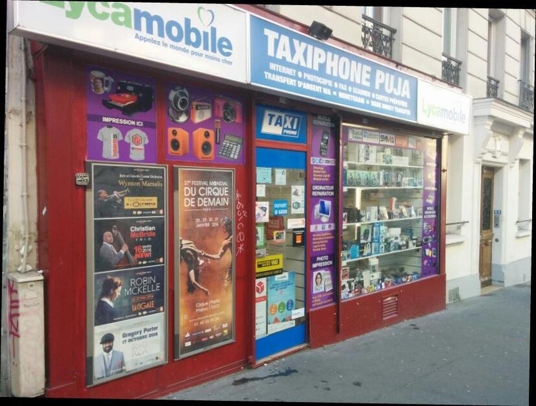 Foto del 24 de mayo de 2016 22:49, Taxiphone Puja, 53 Rue Jeanne d'Arc, 75013 Paris, Francia