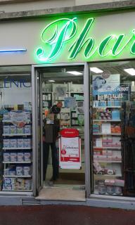 Foto del 5 de febrero de 2016 18:57, Pharmacie Vasram, 12 Rue Louise Michel, 92300 Levallois-Perret, France