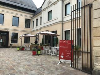 Foto vom 12. August 2017 10:32, le café carré, 2 Rue Claude Blondeau, Le Mans, France
