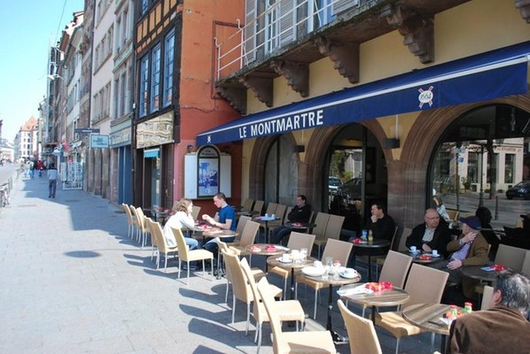 Foto vom 5. Februar 2016 18:57, Café Montmartre, 6 Place du Vieux Marché aux Poissons, 67000 Strasbourg, Frankreich