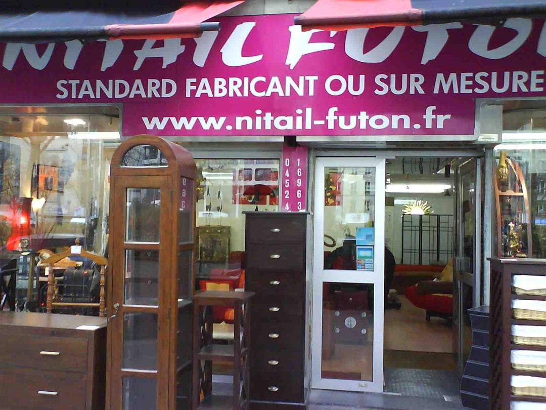 Photo of the February 5, 2016 6:50 PM, Nitail Futon, 61 Cours de Vincennes, 75020 Paris, France