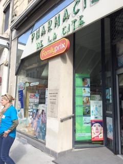 Photo of the September 7, 2017 8:46 AM, pharmacie de la cité, 17 Cours Tolstoï, 69100 Villeurbanne, France
