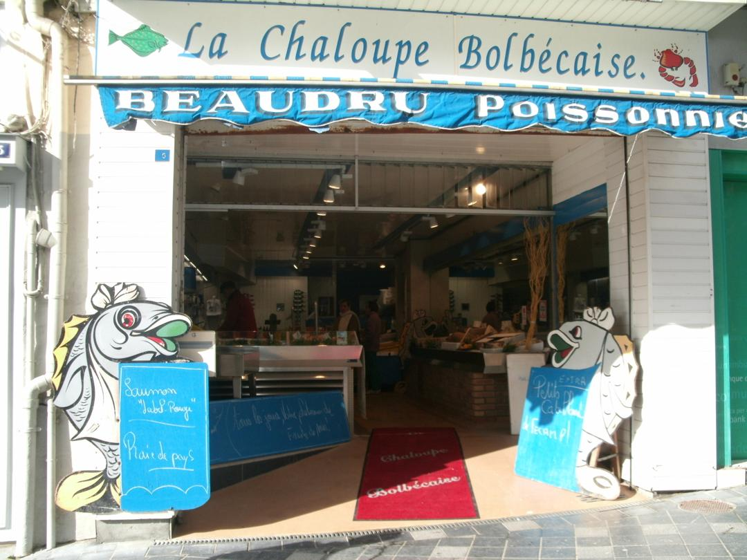 """Foto vom 5. Februar 2016 18:55, Poissonnerie """"La Chaloupe Bolbécaise"""", 5 Rue de la République, 76210 Bolbec, Frankreich"""