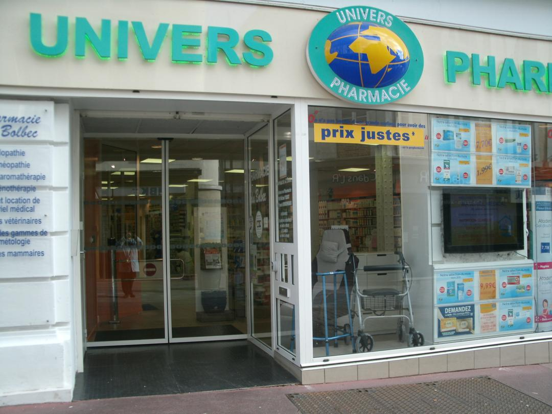 Photo du 5 février 2016 18:55, UNIVERS PHARMACIE, 22 Rue de la République, 76210 Bolbec, France