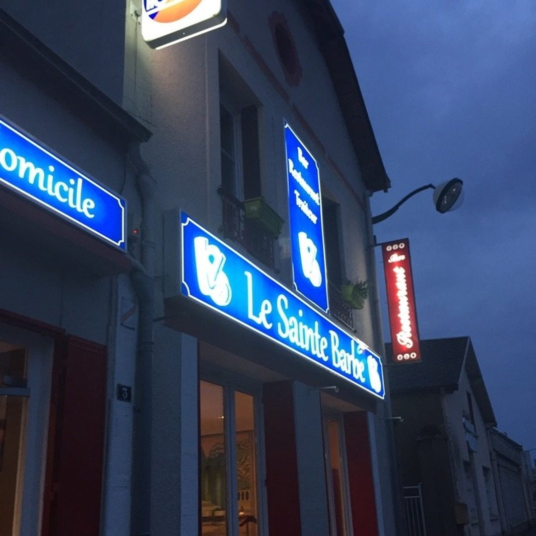 Photo of the May 24, 2016 10:49 PM, Le Sainte Barbe, 38 Rue nationale, 28140 Orgères-en-Beauce, France