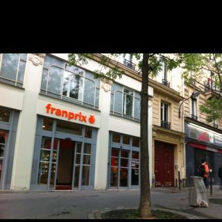 Foto del 24 de mayo de 2016 22:49, Franprix, 51 Avenue des Gobelins, 75013 Paris, Frankreich