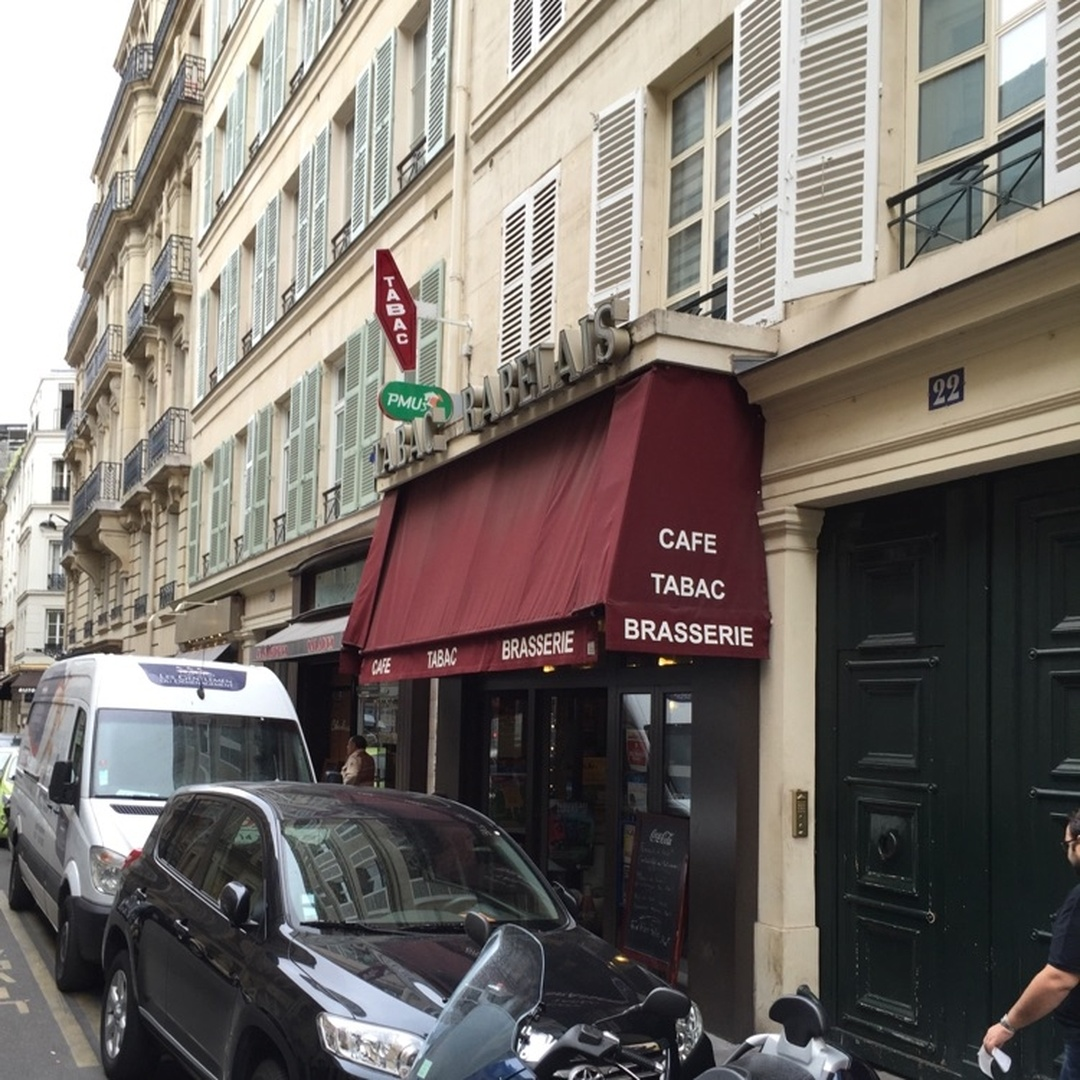 Foto del 5 de febrero de 2016 18:57, Le Rabelais, 22 Rue Jean Mermoz, 75008 Paris, Francia