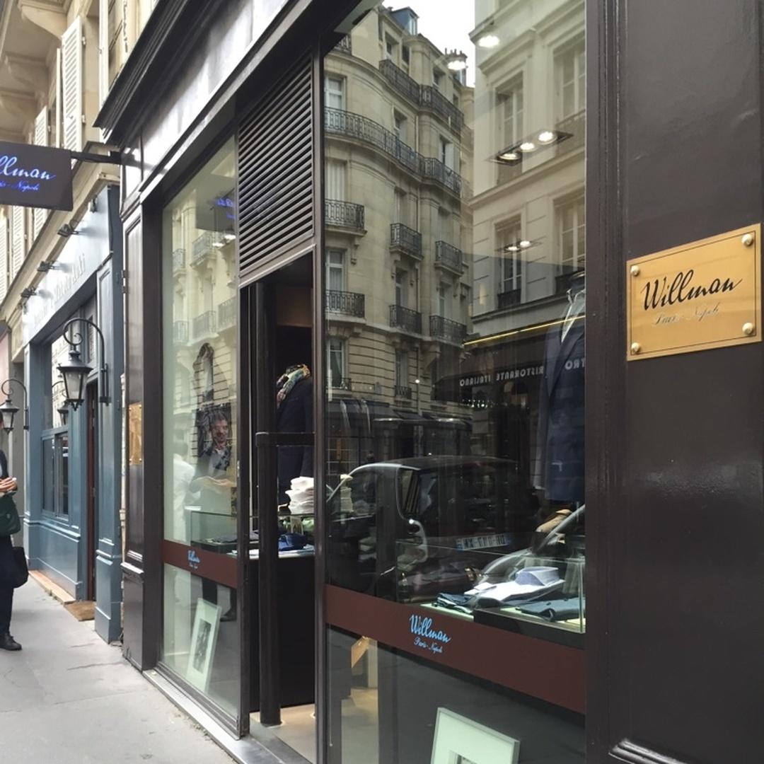 Foto vom 5. Februar 2016 18:57, Willman, 21 Rue Jean Mermoz, 75008 Paris, Frankreich