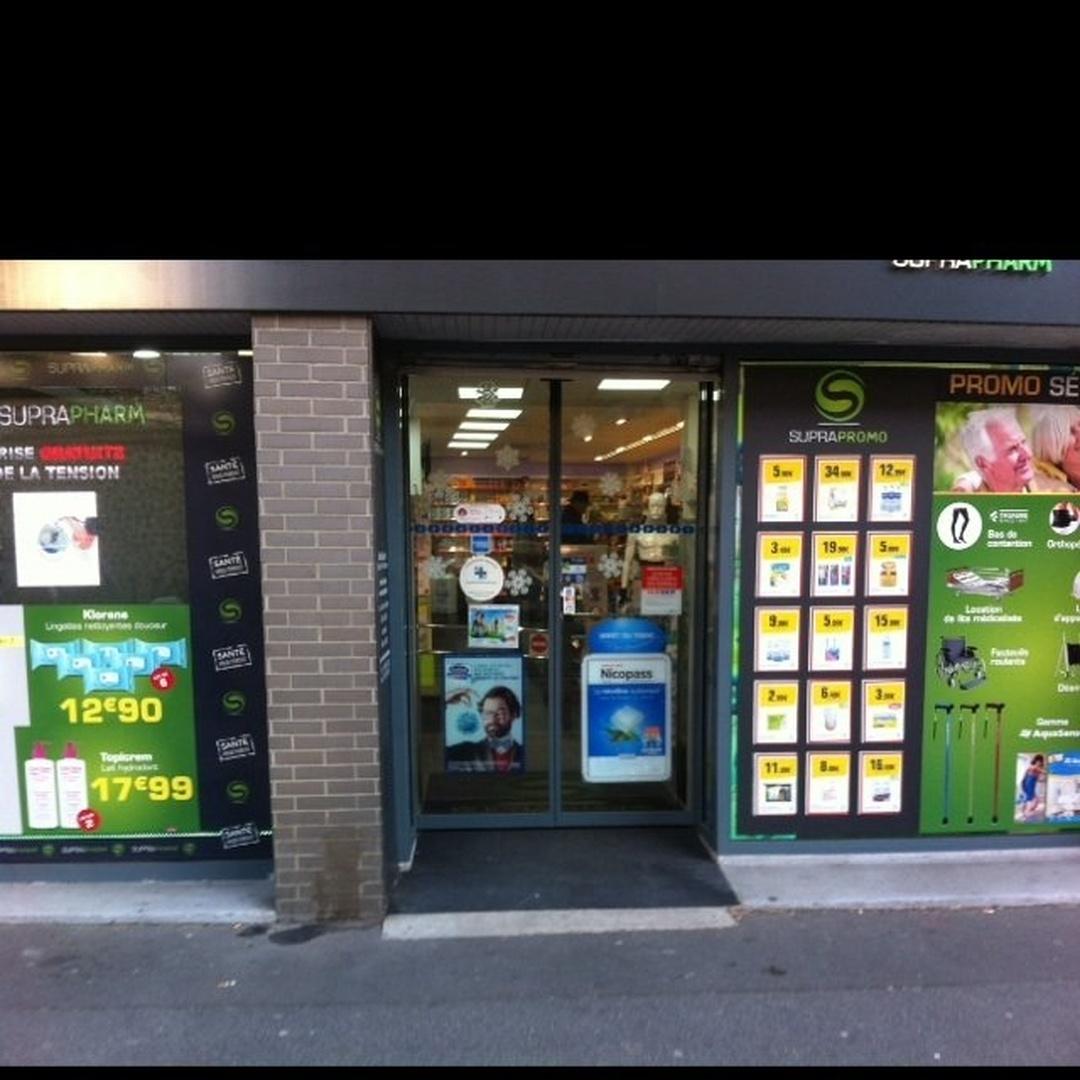 Foto del 24 de mayo de 2016 22:49, Pharmacie nationale, 120 Rue Nationale, 75013 Paris, Francia