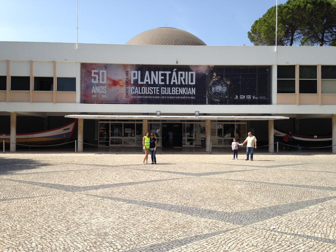 Photo of the February 5, 2016 6:57 PM, Calouste Gulbenkian Planetarium, Praça do Império, 1400-206 Lisboa, Portugal