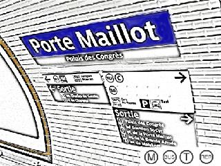 Photo of the May 24, 2016 10:49 PM, Porte Maillot, 01 Rue des Dardanelles, 75017 Paris, France