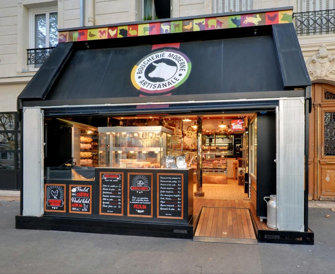 Photo of the September 9, 2016 12:45 PM, Boucherie Moderne, 249 Boulevard Voltaire, 75011 Paris, France