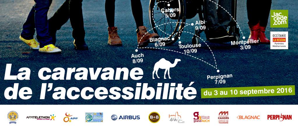 Affiche de la caravane de l'accessiblité